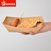 Disposable Paper Big Kraft Tray for Food