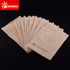 100% Compostable Wheat Straw Unbleached Brown Paper Kraft Napkins