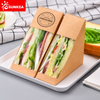 Wholesale Disposable Kraft Paper Sandwich Boxes