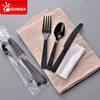 Individually wrapped plastic cutlery sets