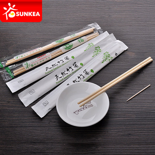 Food Grade Bamboo Chopsticks with Custom Packaging