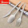 Compostable eco friendly biodegradable CPLA plastic cutlery