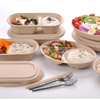Compostable Wheat Straw Pulp Food Box