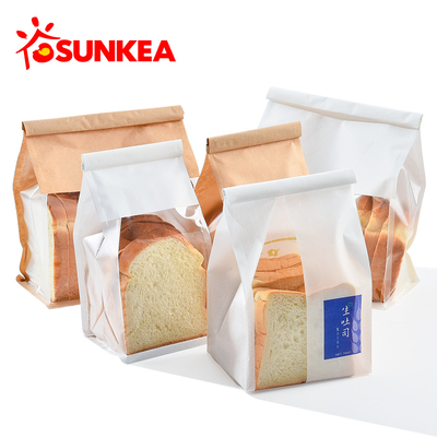 Disposable food bag toast bread packaging bag