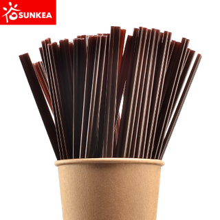 Brown Coffee Stir Stick, Plastic Coffee Stirrer